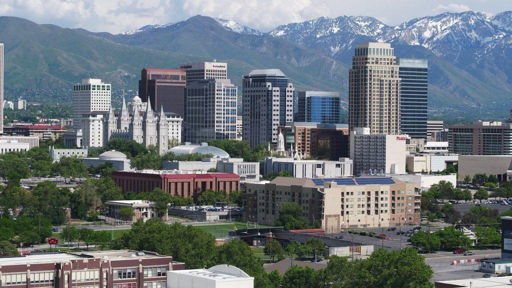 Salt Lake City from Afar